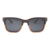 High quality square recycled walnut full wood polarized sunglasses for men