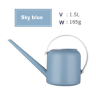 Long Can Watering Can Plants Simple Design Light Blue Matte Garden Spray Plant Mini Long Mouth Watering Can