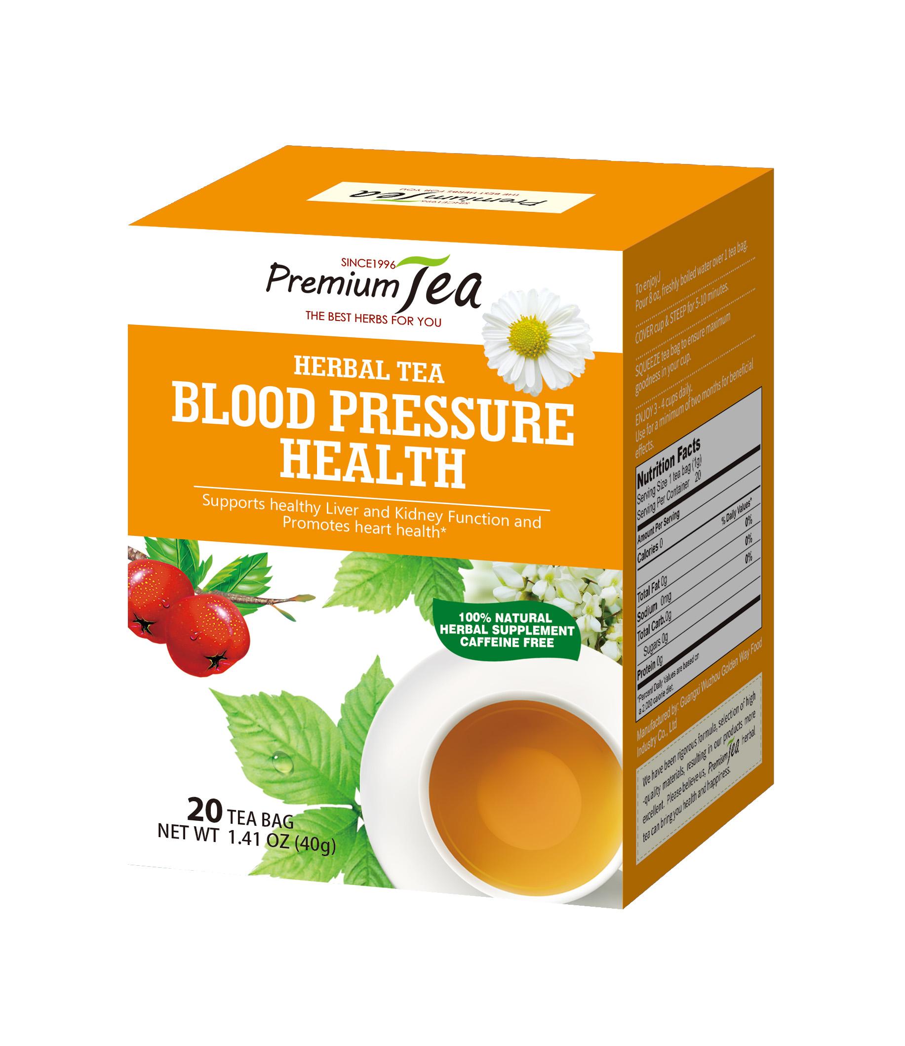 Lowing Blood Pressure Control Herbal Tea - 4uTea | 4uTea.com
