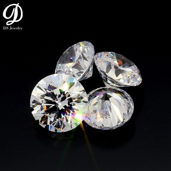 China wholesale D White Color 1 CT Round Moissanite Diamond