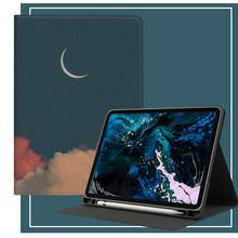 Чехол Funda для iPad Pro 2020, чехол для Apple iPad Pro 11, 12,9 дюймов, 12, 9, 2020, задняя крышка, складной чехол с держателем для карандашей, чехол для планшета(Китай)