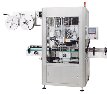 Manufacturing Plant wine \can\PET water bottle shrink sleeve labeling machine