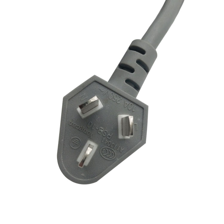 16A CCC Standard <strong>Power</strong> <strong>Cord</strong> 3 Core China AC Electric <strong>Cable</strong> 3 Pin Copper Wire Chinese <strong>Power</strong> Plug