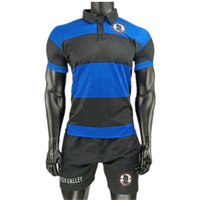 OEM Rugby League Uniforms Custom Name Number Football Wear Sublimated Rugby Jersey