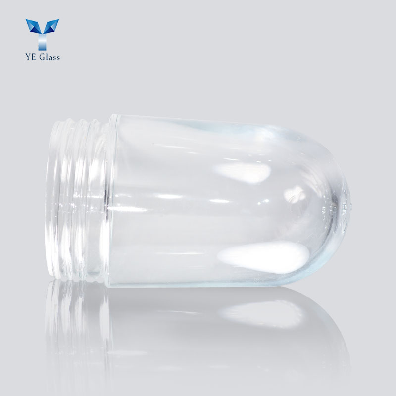 Clear Glass Globe Industrial Light Cover for Crouse-Hinds Explosion Proof Lamp