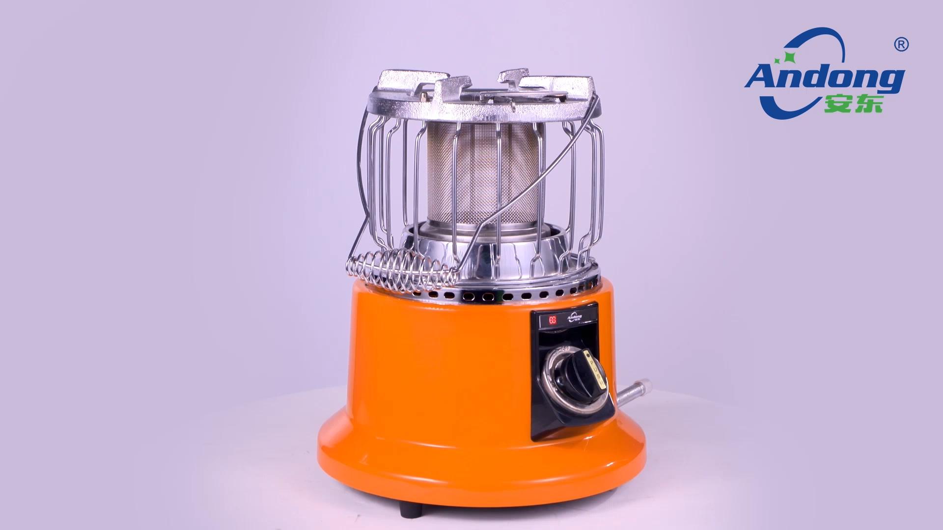 उच्च गुणवत्ता इनडोर पोर्टेबल गैस हीटर और कुकर पोर्टेबल एलपीजी प्राकृतिक गैस हीटर