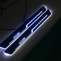 Super Dynamic Streaming Effect Led Car Door Sill Plate Light