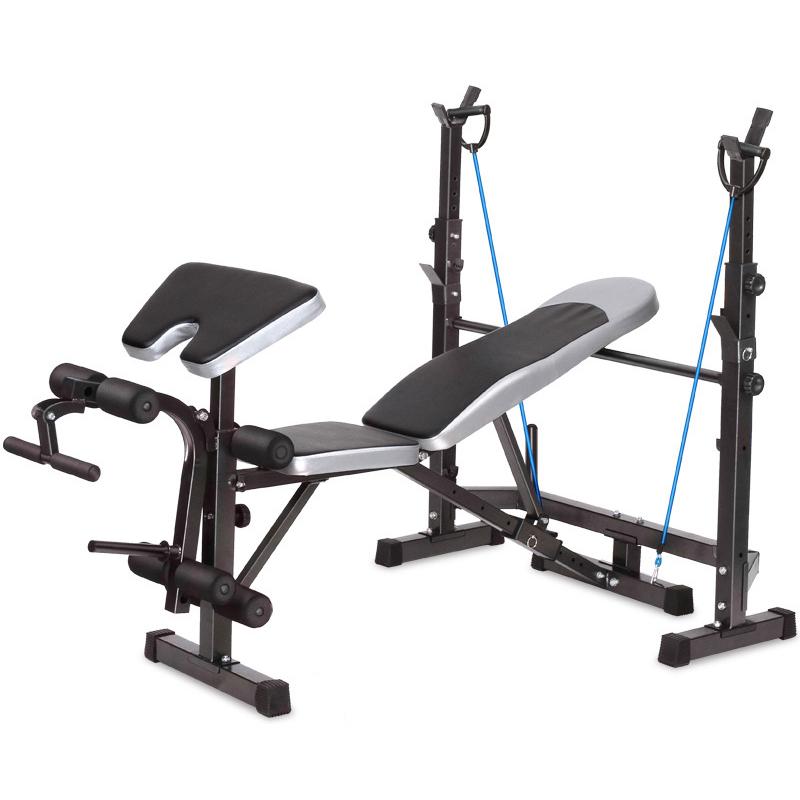 Multifunzione esercizio di sollevamento pesi panca regolabile peso panchina