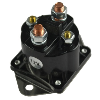 Club Car 12 Volt 4 Terminal Solenoid (84+) DS/04+ Precedent Gas Golf Cart Coil