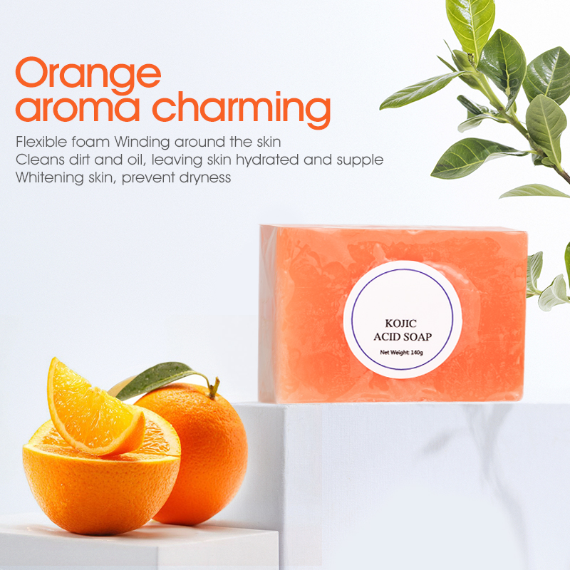 Wholesale Organic Natural Private Label Solid Kojic Acid Soap For Skin Whitening Lightening