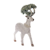 Best sell wholesale indoor plastic animal table decorations ornaments christmas decoration deer