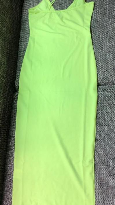 Женское сексуальное Бандажное платье с открытой спиной белого, желтого, черного, неонового цвета оптом