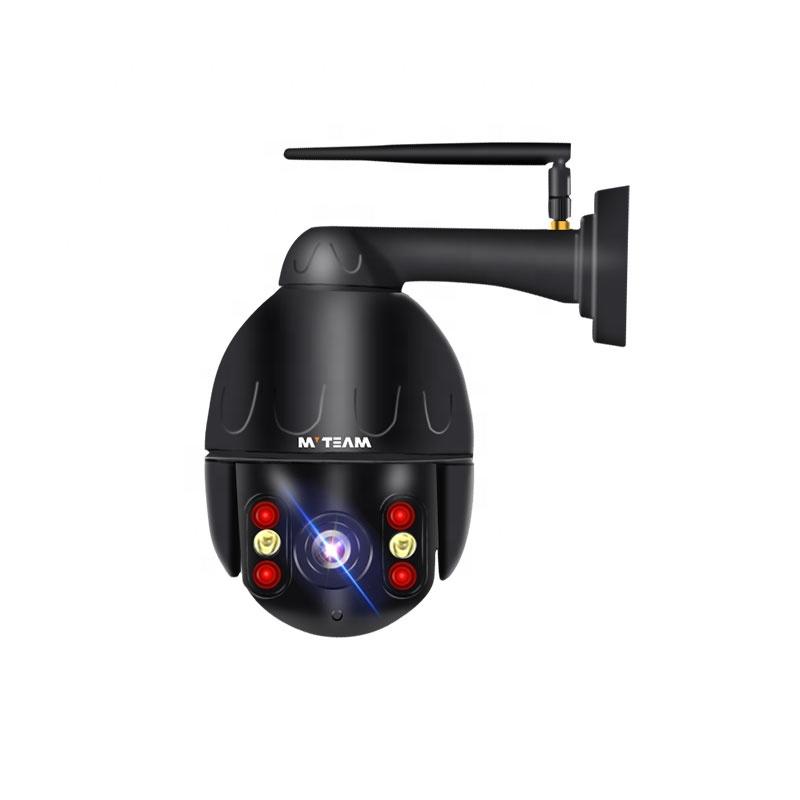 Patlamaya dayanıklı Metal gövde 2.5 inç Mini PTZ kamera 4X Zoom su geçirmez IP66 1080P HD akıllı ev wifi güvenlik kamerası