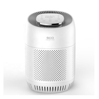 Air Cleaner with 3 Stage Filtration with True HEPA Filter, Portable Allergen Remover, Plug-in Dust Smoke Odor Home Air purifier