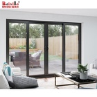 Patio Door Hot Sale Soundproof Balcony Aluminium Glass Sliding Patio Door