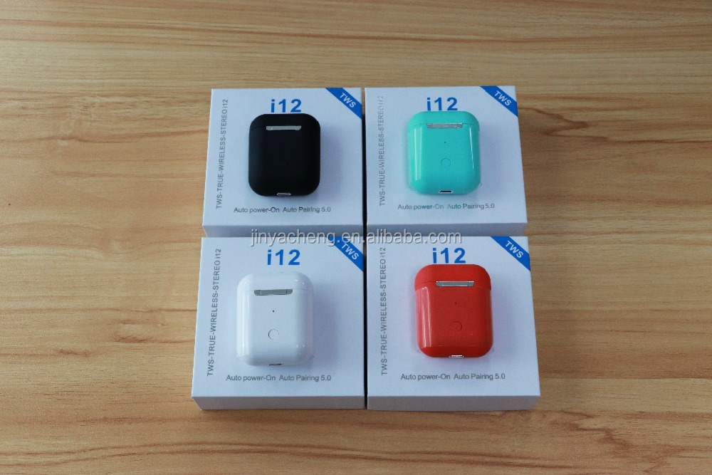 i12 TWS V5.0 Earbuds Original Wireless Headphone Earphones For iphone Android