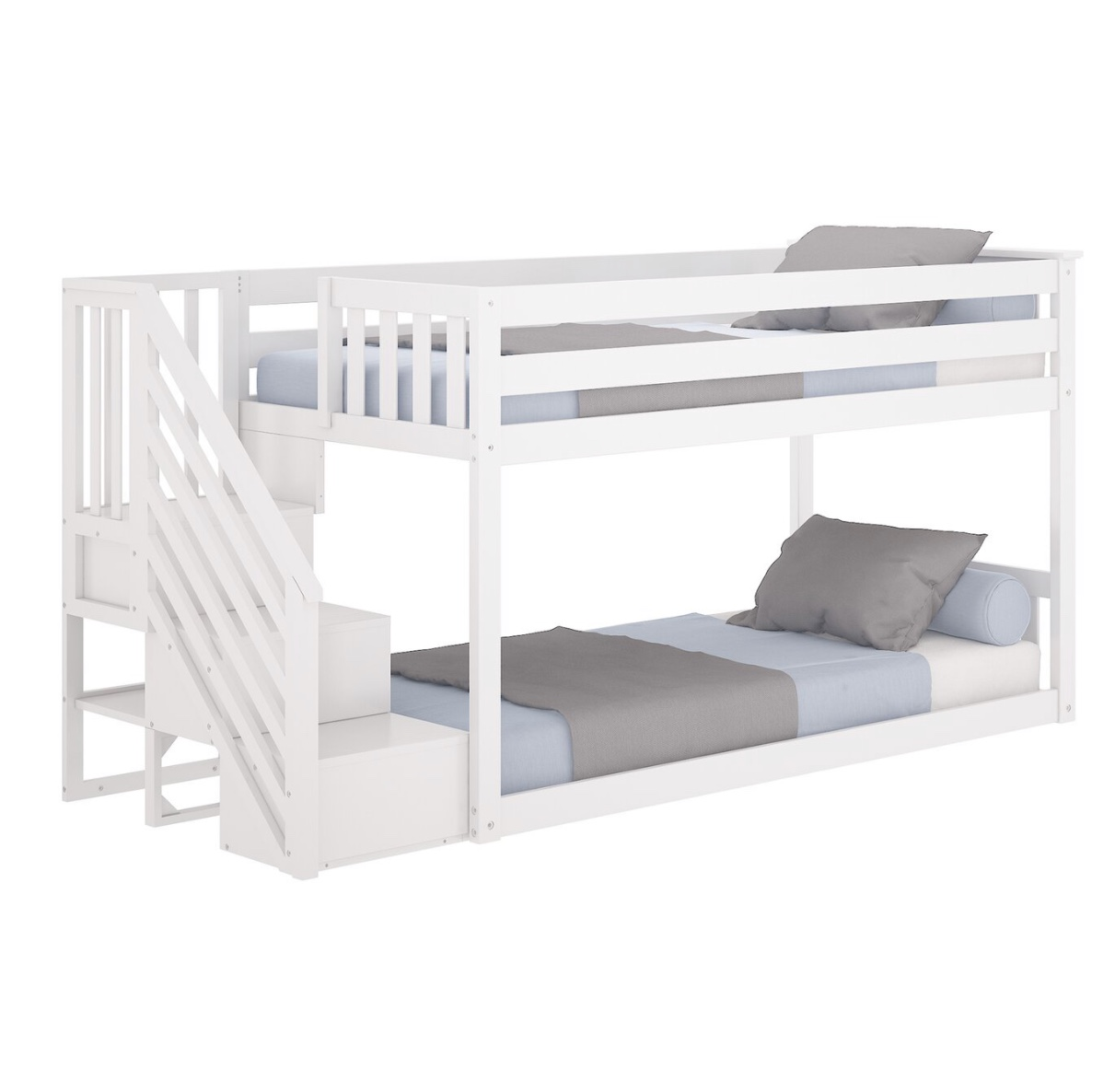 Picture of: No 1539 Hot Selling Kids Bedroom Furniture Solid Pine Wood Twin Bunk Bed With Storage Stairs Buy Wooden Furniture Kids Bunk Bed Solid Pine Wood Product On Alibaba Com