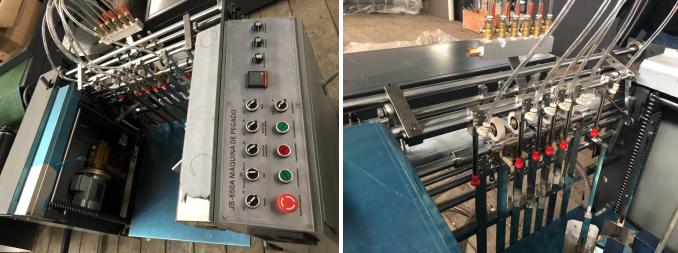 JS-850A Automatische Papier Kleben Maschine