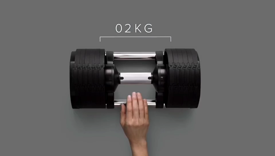 Factory IN STOCK DROP SHIP 16KG 20KG 32KG Core Home Fitness Adjustable Weights Lifting Dumbbell Set 32KG