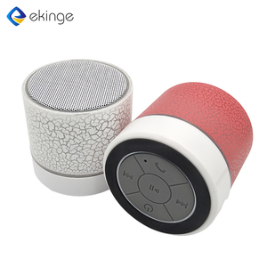 New style Bulk cheap promotional mini portable wireless bluetooth speaker with LED light