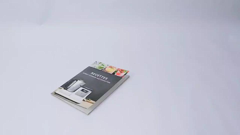 السرج خياطة ورقة A5 كتيب كتيب صور مطبوعة