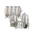 METO Electric fermenting equipment 500L, 1000L, 2000L, 3000L Beer Brewing System