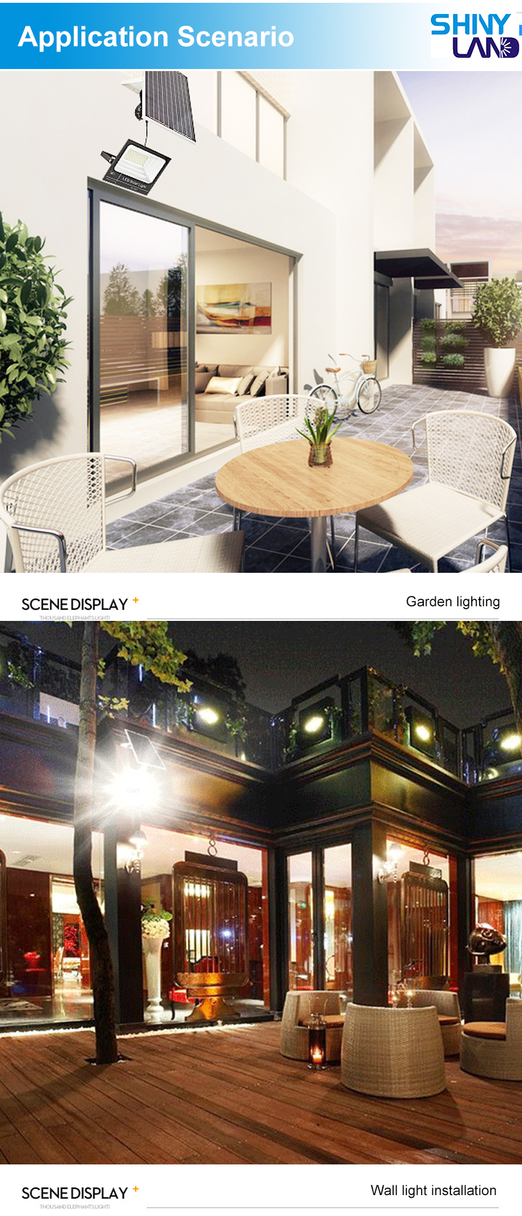Remote Control Outdoor IP65 Tahan Air SMD 25 W 40 W 60 W 100 W 200 W Lampu Sorot LED