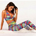 Fancy Yoga Printed Sweater Simulation Traje De Urban Sports Wear Set