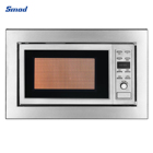 Oven Convection Yes 34L Drop Down Stainless Built In Microwave Oven With Grill Convection