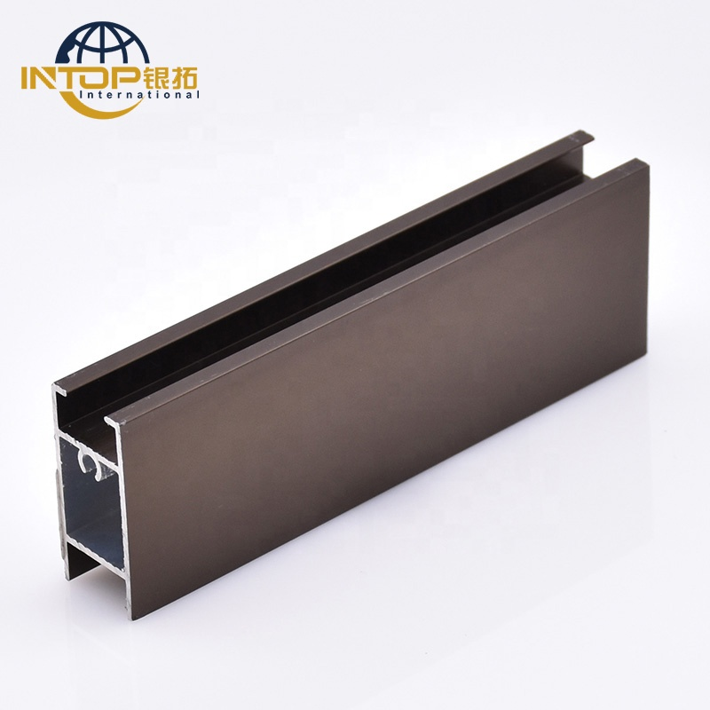 South Africa market anodized bronze cnc aluminum profile for security fence
