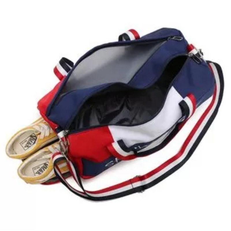 New stylish dry wet lifetime fitness sport gym bag duffel travel bag with shoe compartment