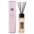 Mescente luxury glass aroma reed diffuser set, home fragrance reed diffuser with rattan sticks for gift