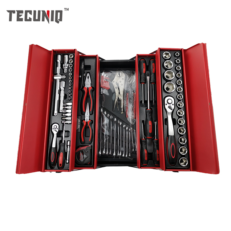 TECUNIQ Hot Sale 86pcs <strong>Electrical</strong> Rachet Spanner <strong>Hand</strong> <strong>Tools</strong> And Equipment Set