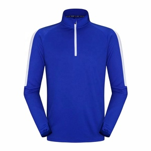 2019 High Elastic Long Sleeve Mens Gym T Shirt Workout Shirts For Men