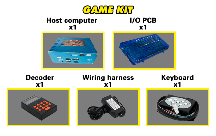 Mini sikke itici pençe makinesi kiti vinç joystick oyun ana kurulu alışveriş merkezi için
