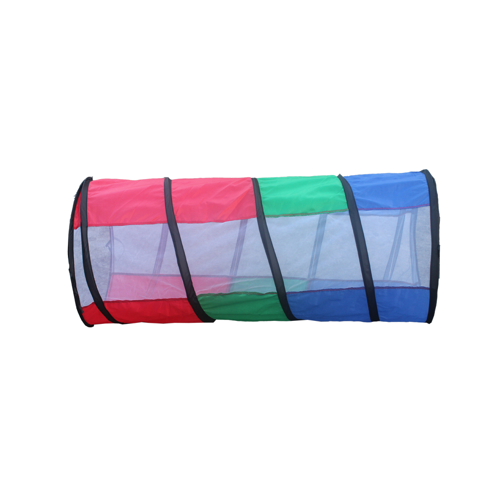 colorful kids tent kids play tunnel set Children playing toys tent