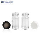 Alwsci 20ML Clear glass storage vial with solid white PP cap chromatography autosampler vial