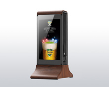 7 Inch LCD Touch Screen Android Digitale Restaurant Hotel Desktop Tisch Werbung Spielen Video Media Display-Player