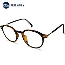 BLUEMOKY Винтаж круглые прозрачные очки с диоптриями рамка унисекс оптическая оправа для очков, при близорукости рамки Eyeglasses способа поддельны...(Китай)