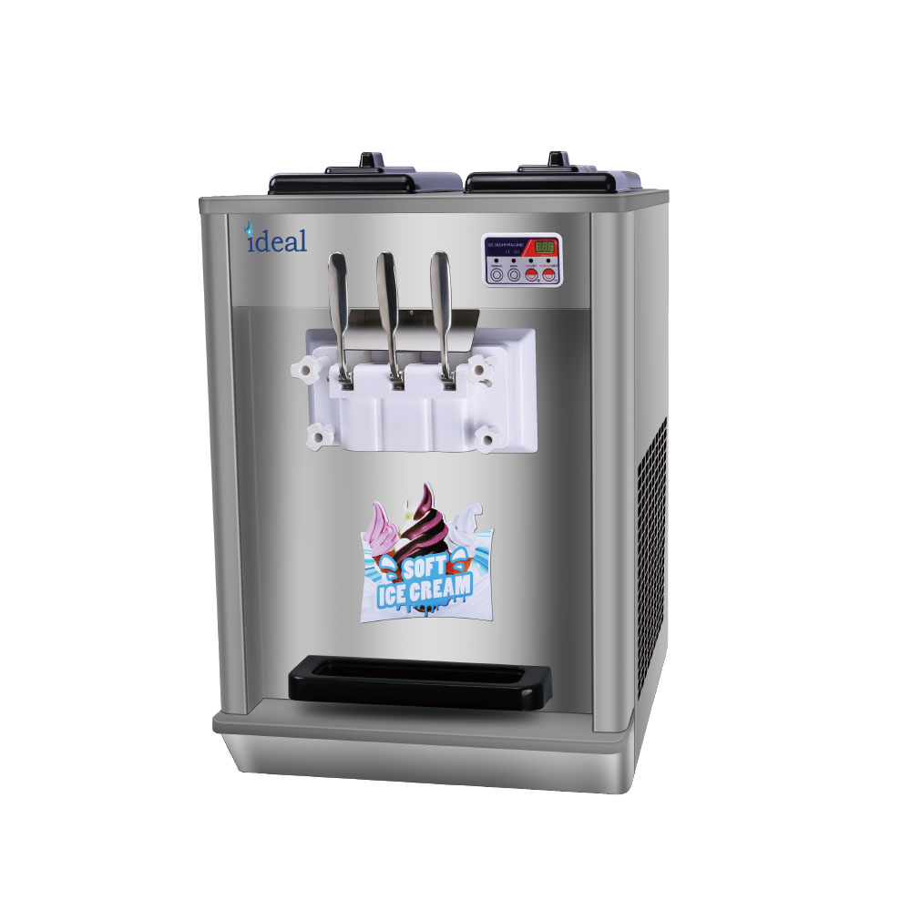 เดสก์ท็อป Commercial Soft Ice Cream Machine