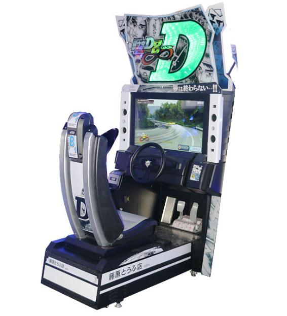 Initial D arcade podium 8 muntautomaat racing simulator games machine