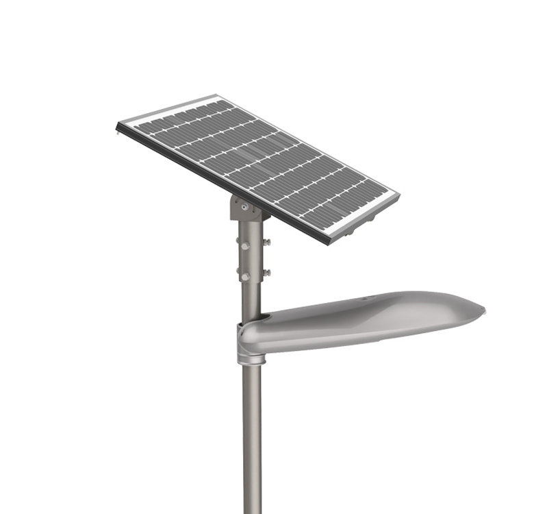 Motion Induction Waterproof Aluminum Housing Ip65 20W Solar Lamps Street Light All In Two