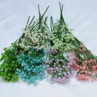 Factory Mini Artificial Baby's Breath Gypsopehila Bush for Wedding Flowers Home Decoration