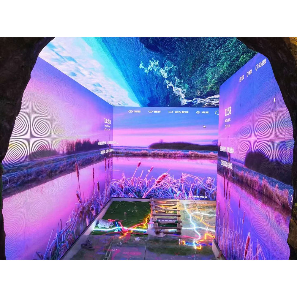 Unreal Engine Scenes 3D Immersive Environment Studio Project Filming Solution Display Screen Virtual Production Led Video Wall