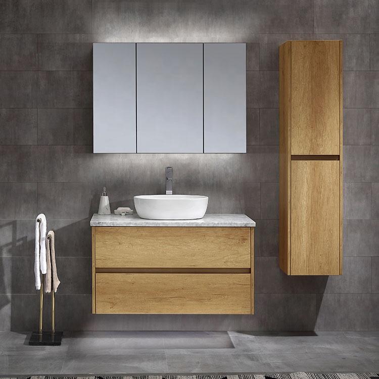 Wholesale Hotel Bathroom Furniture Wall Mounted  42 Inch Bathroom Vanity Cabinet,Wall Cladded Vanity Bathroom