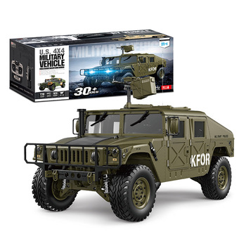New arrival 1:10 remote radio control 2.4G toy military rc car