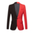 PYJTRL New Fashion White Black Red Casual Coat Men Blazers Stage Singers Costume Blazer Slim Fit Party Prom Suit Jacket
