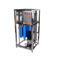 500LPH industrial compact RO system plant water filter / water purification