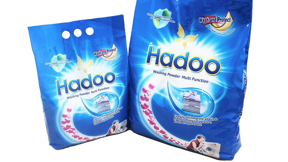 1KG Bag Automatic Machine Washing Powder Laundry Detergent For Apparel