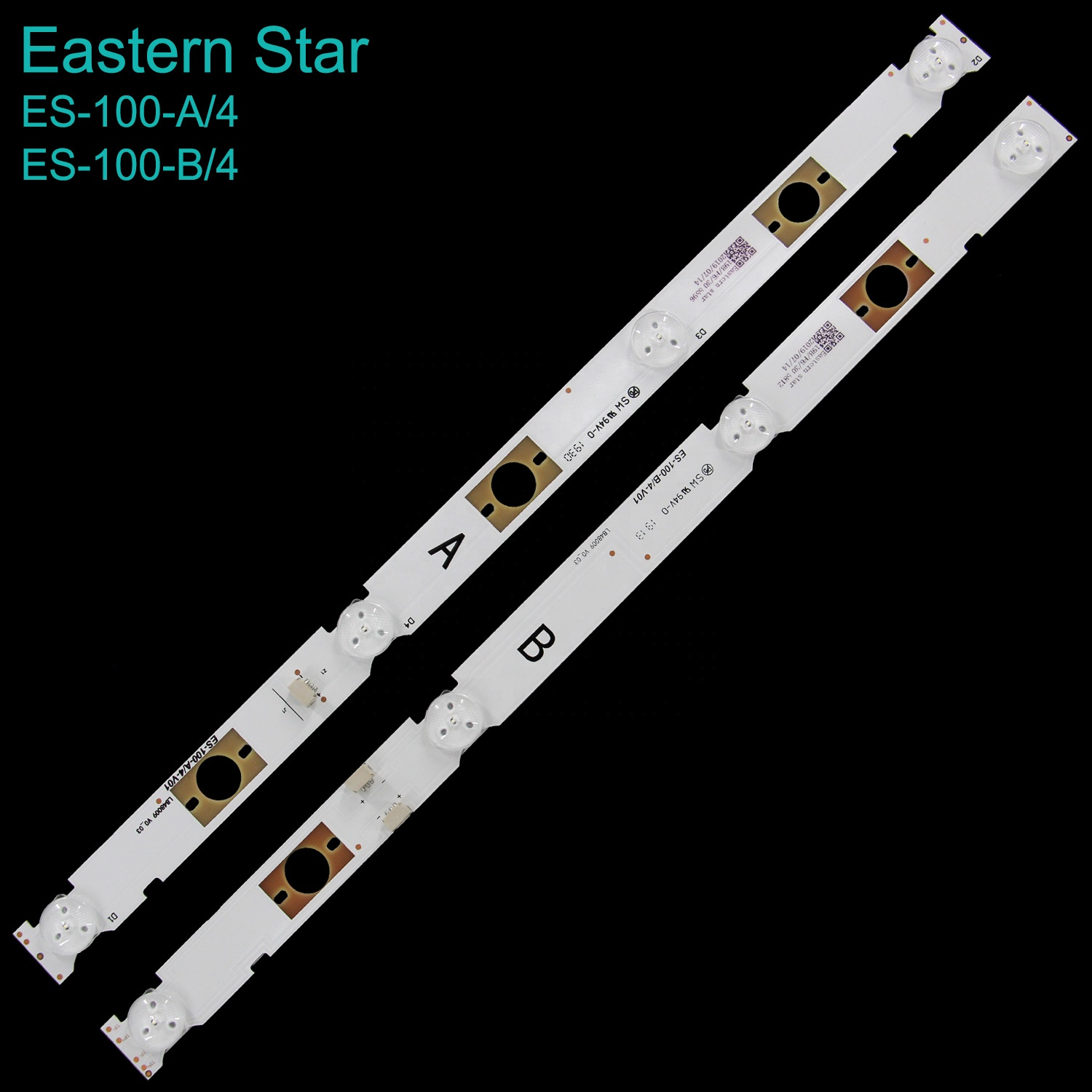 ES-100 LB48009 V0_03/<strong>V1</strong>_04 backlight led strip 48inch WD A+B <strong>4</strong>+4LEDs use for SONY KDL48W650D